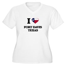 I love Fort Davis Texas Plus Size T-Shirt