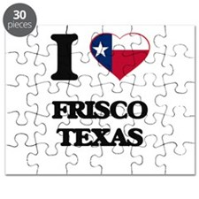 I love Frisco Texas Puzzle