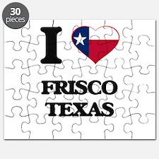 I love Frisco Texas Puzzle