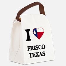 I love Frisco Texas Canvas Lunch Bag