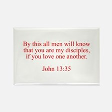 By this all men will know that you are my disciple