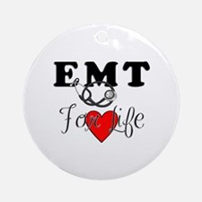 EMT For Life Ornament (Round)