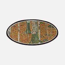 Birch Forest by Gustav Klimt, Vintage Art No Patch