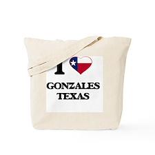I love Gonzales Texas Tote Bag
