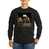 Cool violin Long Sleeve T-shirts (Dark)