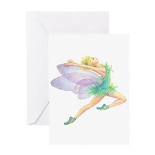 Tinkerbell Dancer Single Greeting Card
