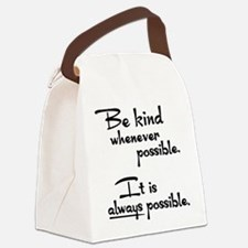 ALWAYS POSSIBLE Canvas Lunch Bag