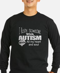Autism affection Long Sleeve T-Shirt