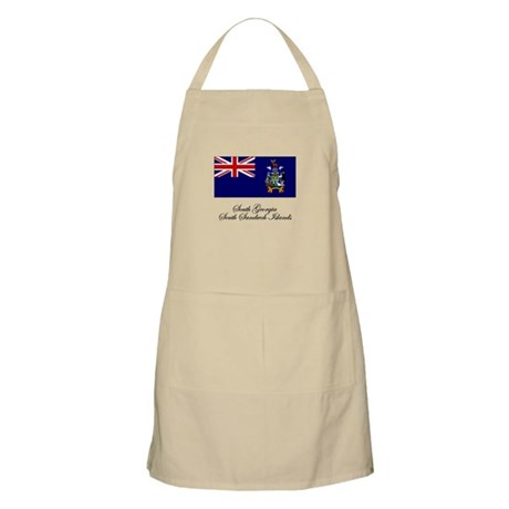 South Georgia and South Sandw BBQ Apron