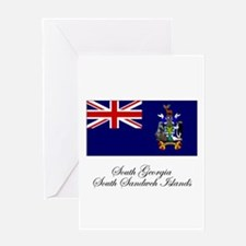 South Georgia and South Sandw Greeting Card