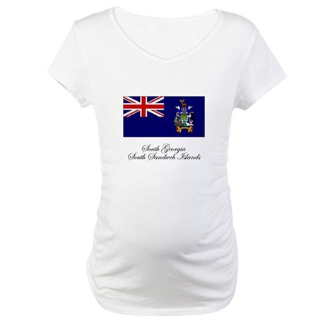 South Georgia and South Sandw Maternity T-Shirt