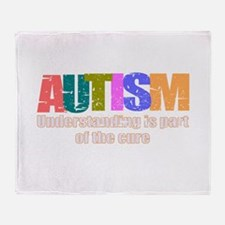 Curing Autism Throw Blanket