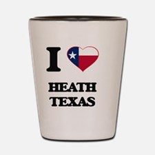 I love Heath Texas Shot Glass