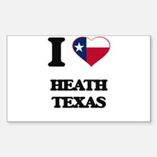 I love Heath Texas Decal