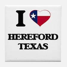 I love Hereford Texas Tile Coaster
