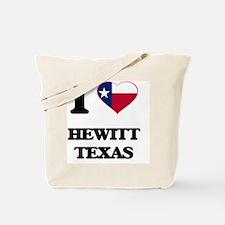 I love Hewitt Texas Tote Bag
