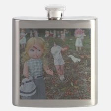 doll zombies Flask