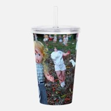 doll zombies Acrylic Double-wall Tumbler
