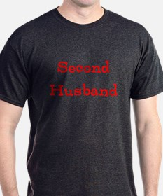 Funny Second Husband (your Text # Spouse T-Shirt