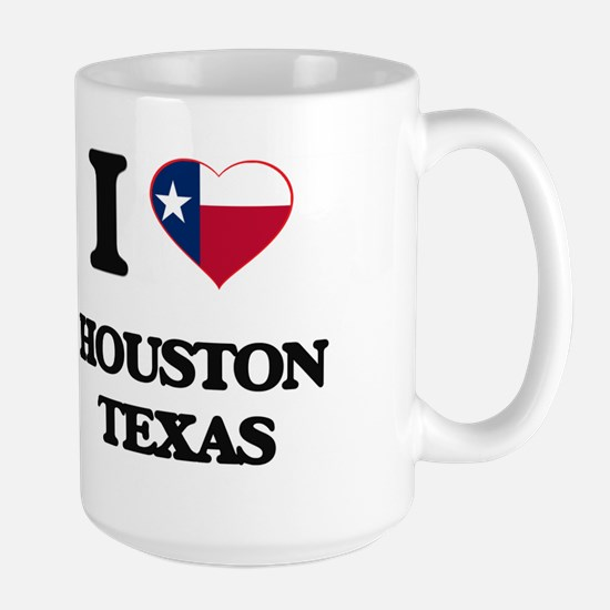 I love Houston Texas Mugs