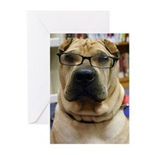 Cool Shar pei Greeting Cards (Pk of 10)