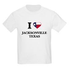 I love Jacksonville Texas T-Shirt