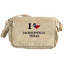I love Jacksonville Texas Messenger Bag