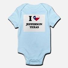 I love Jefferson Texas Body Suit