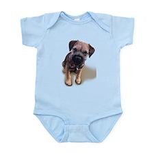 Border Terrier Boy Infant Bodysuit