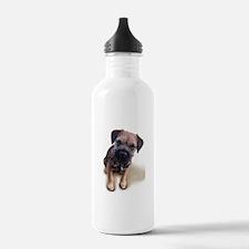 Border Terrier Boy Water Bottle