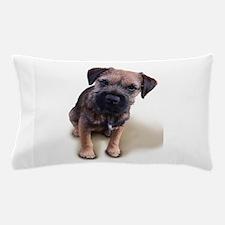 Border Terrier Boy Pillow Case