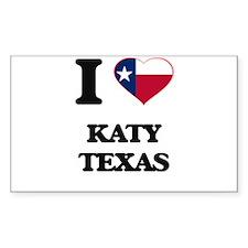 I love Katy Texas Decal