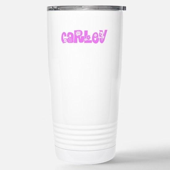 Carley Flower Design Mugs