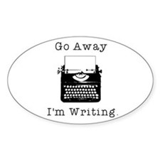Cute Author Decal