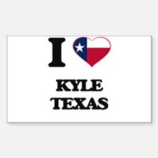 I love Kyle Texas Decal