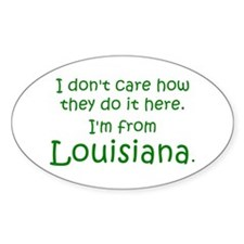 From Louisiana Decal