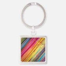 Colors Square Keychain