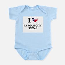 I love League City Texas Body Suit