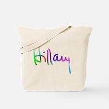 Hillary Rainbow Signature Tote Bag