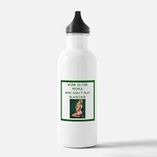 blackjack joke Water Bottle