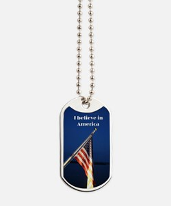Believe in America Dog Tags