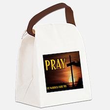 PRAY Canvas Lunch Bag