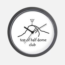 Top Of Half Dome Club Wall Clock