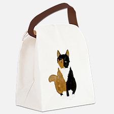 Half 'n Half Canvas Lunch Bag