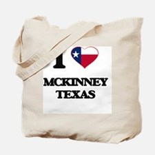 I love Mckinney Texas Tote Bag