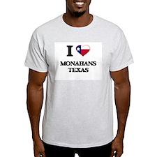 I love Monahans Texas T-Shirt