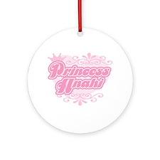 """""""Princess Anahi"""" Ornament (Round)"""