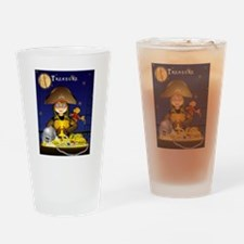 Pirate and Treasure Drinking Glass