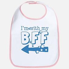 I'm with My BFF (LEFT) Bib