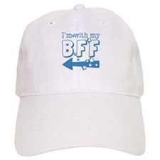 I'm with My BFF (LEFT) Baseball Cap
